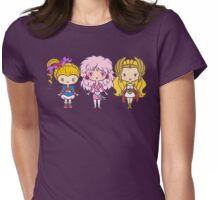 Lil' CutiEs - Eighties Ladies Womens Fitted T-Shirt