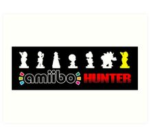 Amiibo Hunter - Super Mario Wave 1 Art Print