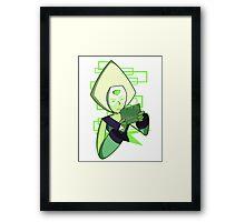 Gamer Dorito (Peridot) Framed Print