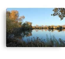 Peaceful Lake 1 Canvas Print