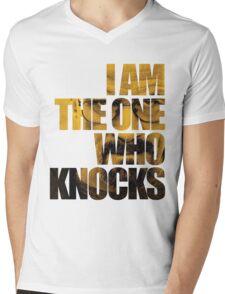 I am the one who knocks.... Mens V-Neck T-Shirt