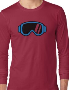 Ski goggles Long Sleeve T-Shirt