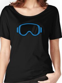 Ski goggles Women's Relaxed Fit T-Shirt