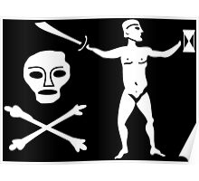 Walter Kennedy Pirate Flag Poster