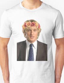 Owen Wilson Flower Crown Unisex T-Shirt