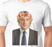 Owen Wilson Flower Crown Unisex T-Shirt