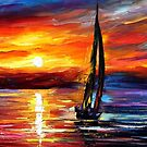Wind Toching The Soul — Buy Now Link - www.etsy.com/listing/226721609 by Leonid  Afremov