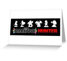 Amiibo Hunter - Smash Bros. Wave 4 Greeting Card