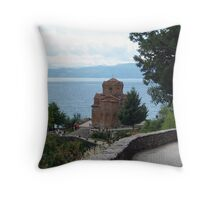 Sveti Jovan church Throw Pillow