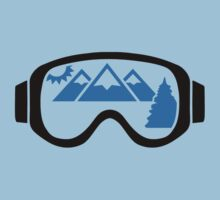 Ski goggles mountains Kids Clothes