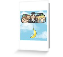 Rear View Mirror Greeting Card