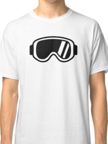 Skiing goggles Classic T-Shirt