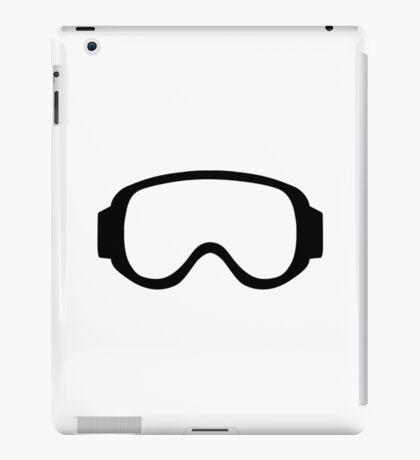 Ski snowboard goggles iPad Case/Skin