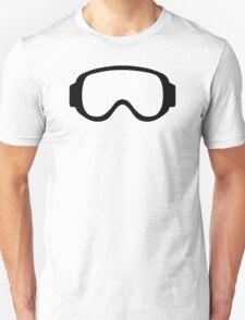Ski snowboard goggles Unisex T-Shirt
