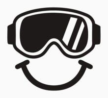 Ski smiley One Piece - Short Sleeve