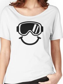 Ski smiley Women's Relaxed Fit T-Shirt