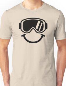 Ski smiley Unisex T-Shirt
