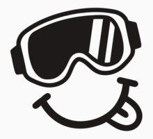 Ski smiley face by Designzz