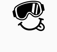 Ski smiley face Unisex T-Shirt