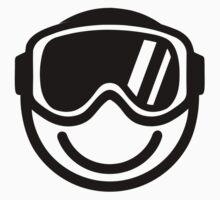 Ski snowboard smiley by Designzz