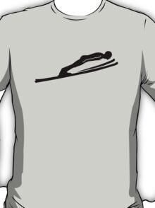 Ski jumping jumper T-Shirt