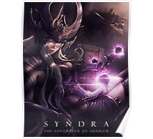 Syndra the Sovereign of Shadow - LoL Poster