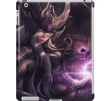 Syndra the Sovereign of Shadow - LoL iPad Case/Skin
