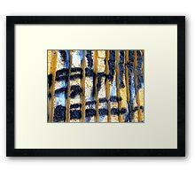 Patch of Blue Framed Print
