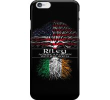 Riley - American Grown with Irish Roots iPhone Case/Skin