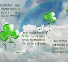Balloons And Blessing by Maria Dryfhout