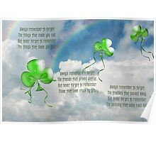 Balloons And Blessing Poster