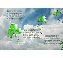 Balloons And Blessing Photographic Print