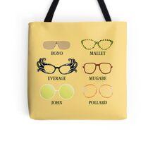 Wacky Glasses Tote Bag