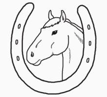 Horseshoe Headstall One Piece - Long Sleeve