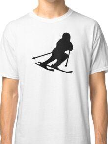 Downhill skiing Classic T-Shirt
