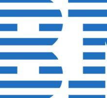 IBM Logo Sticker