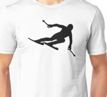 Ski racing Unisex T-Shirt