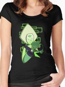 Gamer Dorito (Peridot) Women's Fitted Scoop T-Shirt