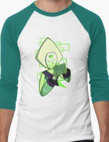 Gamer Dorito (Peridot) Men's Baseball ¾ T-Shirt