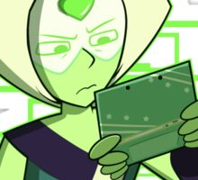 Gamer Dorito (Peridot) Sticker