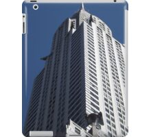 Classic Architecture, Chrysler Building, 42nd Street, New York City  iPad Case/Skin