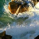 Sun Line in Splash by David  Willison