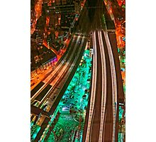 The Railways and The City, London, England Photographic Print