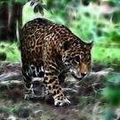 Fractal Jaguar by Teresa Zieba