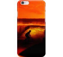 Amanece entre las olas iPhone Case/Skin