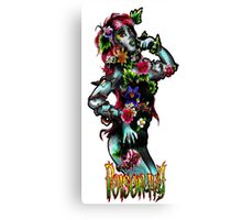 DC Comics - Poison Ivy/Amelia Nightmare crossover Canvas Print