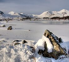 Rannoch Rock by Linda  Morrison