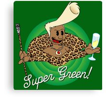 Super Green! Canvas Print