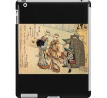 'Lady' by Katsushika Hokusai (Reproduction) iPad Case/Skin