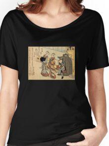 'Lady' by Katsushika Hokusai (Reproduction) Women's Relaxed Fit T-Shirt